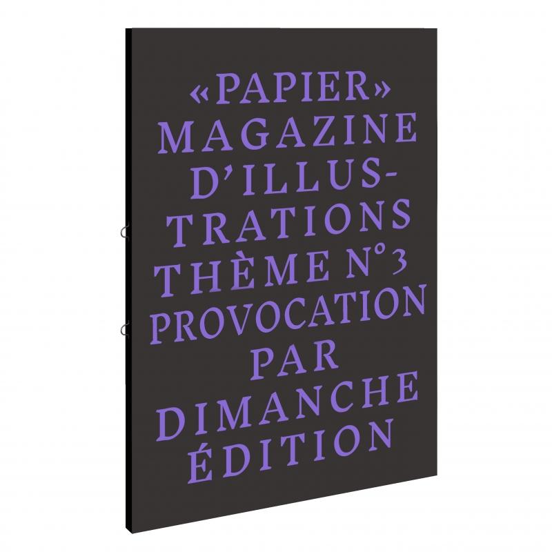 Papier Magazine - PROVOCATION
